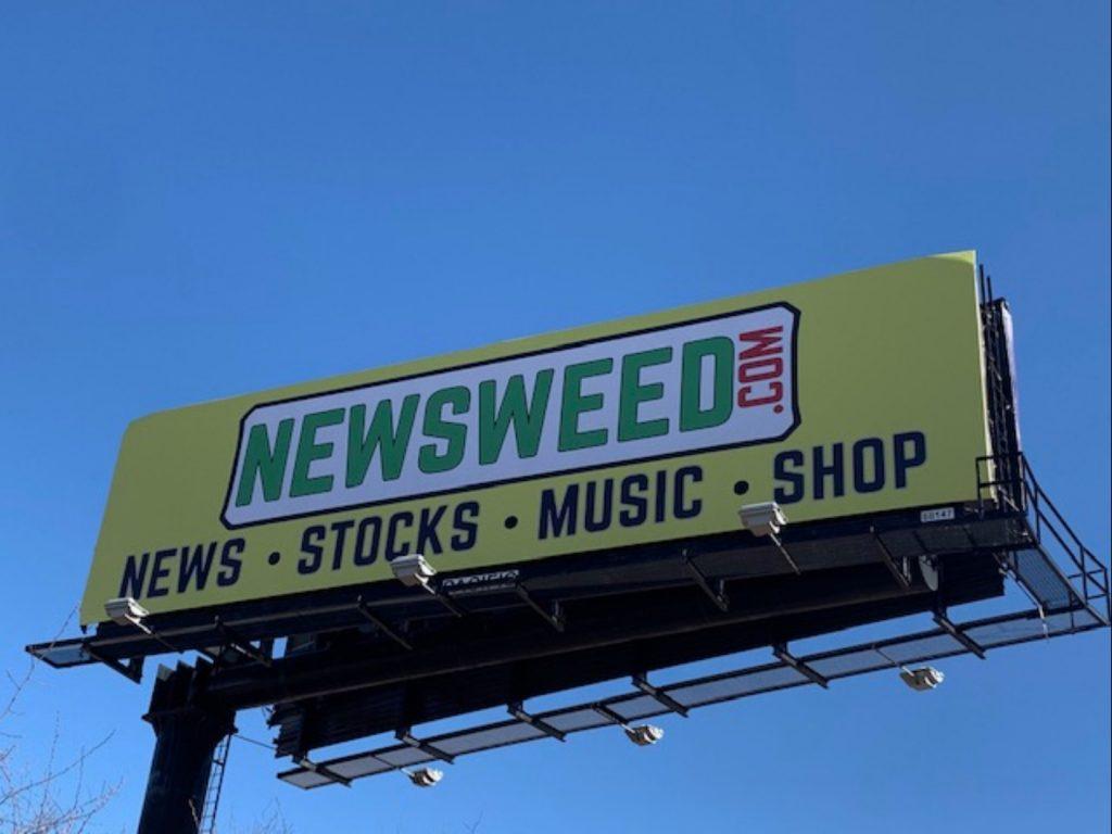 Newsweed NJ Billboard