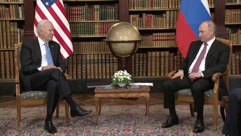 Critical Confidence and Power: Biden and Putin Square Off on June 16