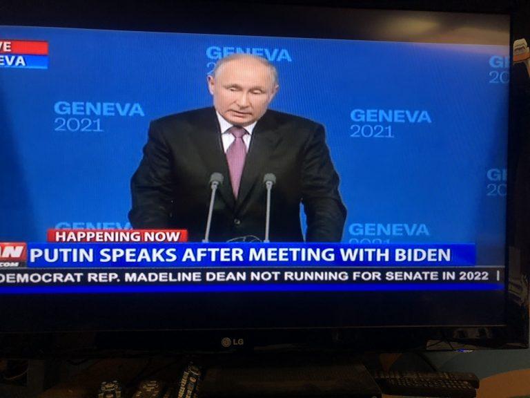 Putin Punches Back