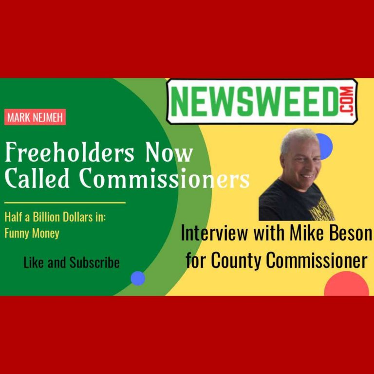 Freeholders Now Called Commissioners: Interview with Mike Beson for Monmouth County Commissioner