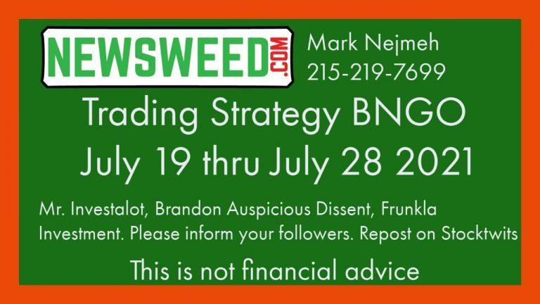 BNGO Trading Advice – Short Positions Bionano Genomics