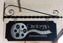Cineloggia Front Sign